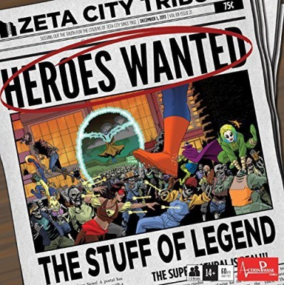 Action Phase Games Heroes Wanted Stuff Of Legend Board Game