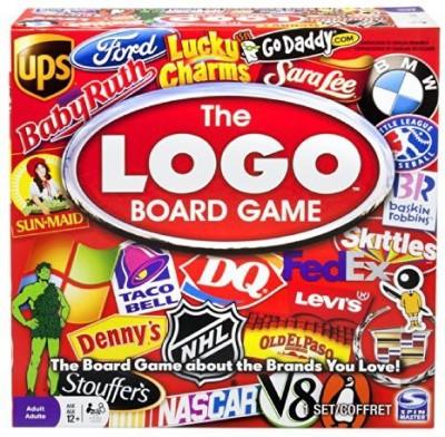 Spin Master Games Logo Board Game