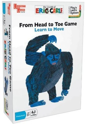 University Games From Head To Toe Eric Carle And Puzzle System Board Game