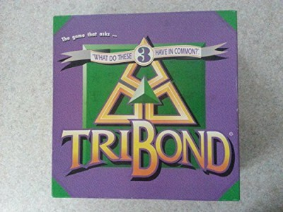 TriBond What Do These 3 Have In Common Board Game