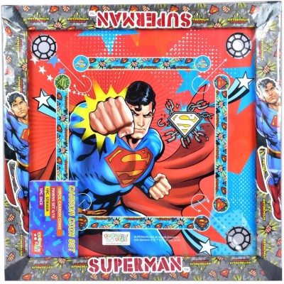 """Warner Bros. Superman Carrom Board With 1.75"""" inches Border Board Game available at Flipkart for Rs.499"""
