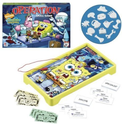 SpongeBob SquarePants Operation Spongebob Edition Board Game