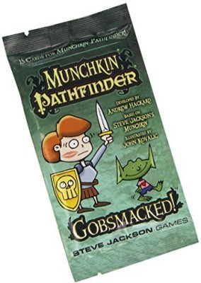 Steve Jackson Games munchkin pathfinder gobsmacked Board Game