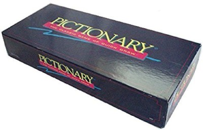 Pictionary The Classic Of Quickdraw (Updated For The 90,S) Board Game