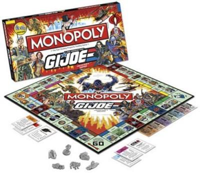 USAopoly Gi Joe Collectors Edition Monopoly Usamn056039 Board Game