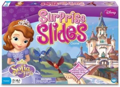 Wonder Forge Princess Sofia Surprise Slides Board Game
