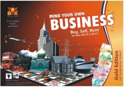 Toysbox Mind Your Own Business-Note Board Game