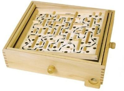 John N. Hansen Wood Larinth Board Game