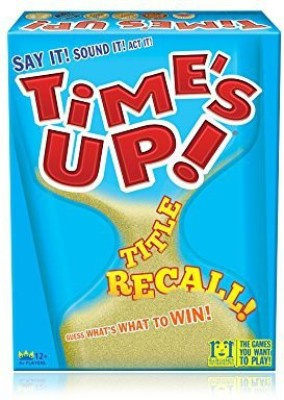 R & R Games Time,S Up Title Recall Board Game