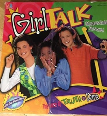 Milton Bradley Girl Talk The Of Truth Or Dare 1995 Edition Board Game