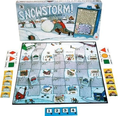 Family Pastimes Snowstorm A Cooperative Board Game