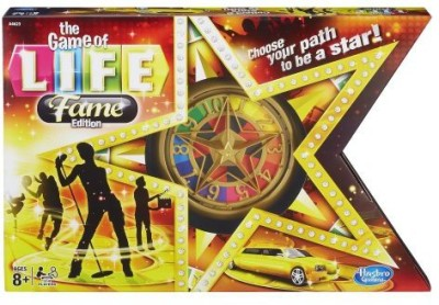 Hasbro The Of Life Money And Asset Fame Edition Board Game