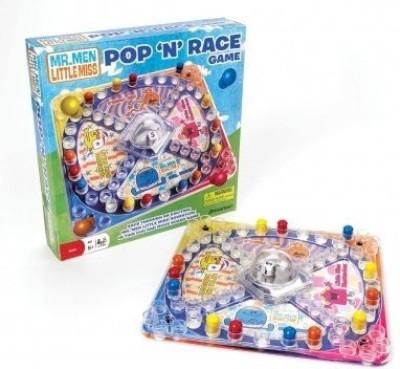 Pressman Toy Mr Men Pop ,N Race Board Game