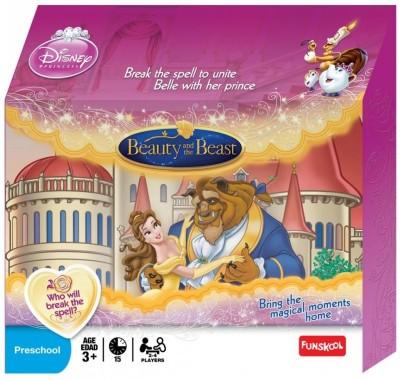 Funskool Disney Beauty and the Beast Board Game