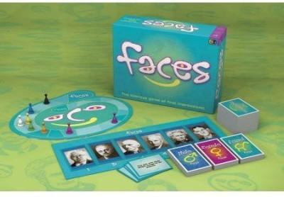 Buffalo Games Faces Board Game