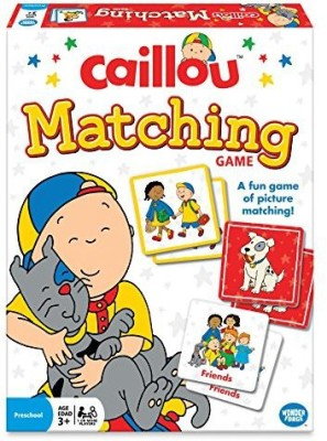 Wonder Forge The Caillou Matching Board Game