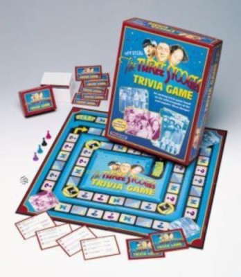 TaliCor Three Stooges Trivia Board Game