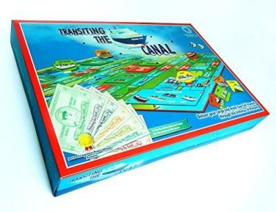 Creaciones Didacticas Transiting The Canal Giftsouvenir Board Game