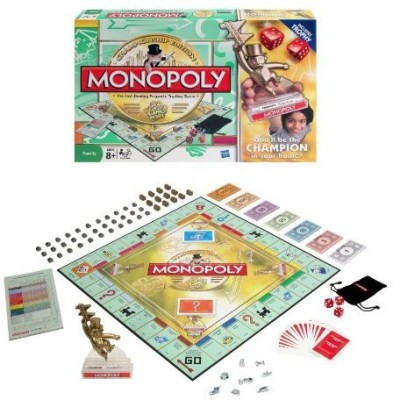 Monopoly Family Championship Board Game