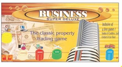 Ajanta Business 5 In 1 Sr Board Game