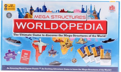 MadRat Games Mega Structures Opedia Board Game