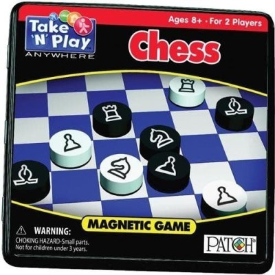Patch Chess Take ,N, Play Anywhere Board Game