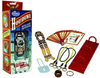 Think Fun Houdini Brainteaser Board Game