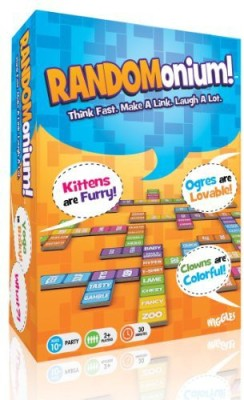 Wiggles 3D randomonium Board Game