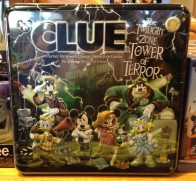 Disney Theme Park Tower Of Terror Clue New Board Game