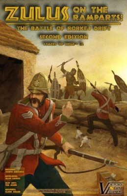 Victory Point Games Zulus On The Ramparts The Battle Of Rorke,S Drift Board Game