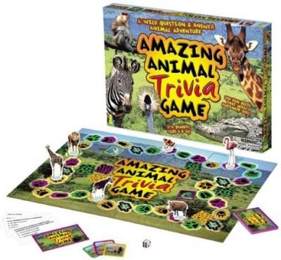 International Playthings Amazing Animal Trivia Board Game