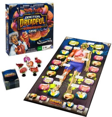 Spin Master Games Dr Dreadful Scabs And Guts Board Game