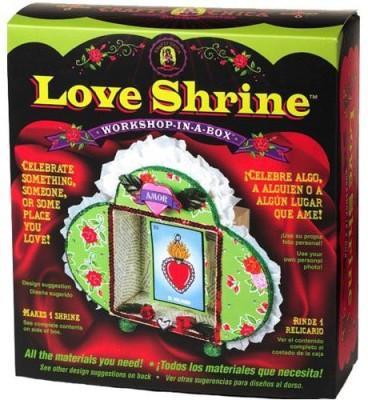 Workshop-in-a-Box Crafty Chica Love Shrine Board Game