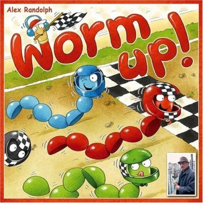 Gryphon Games Worm Up Board Game
