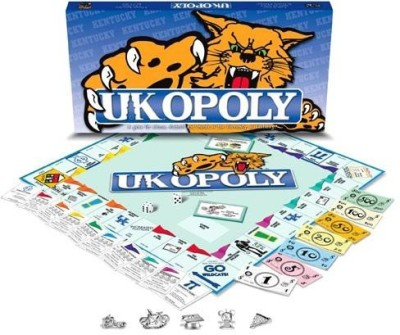 Late for the Sky Late For The Sky University Of Kentucky Monopoly Board Game