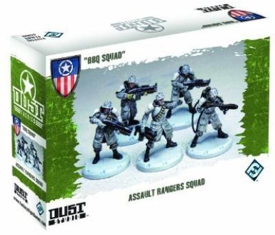 Fantasy Flight Games Dust Tactics Bbq Squad Board Game