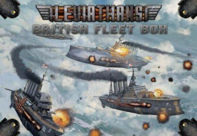 Catalyst Game Labs Leviathans British Fleet Box Board Game