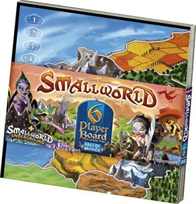 Days of Wonder Small World 6Player Board Game