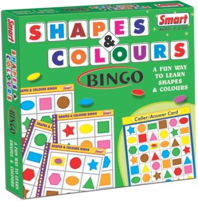 Smart Shapes & Colours Bingo Board Game