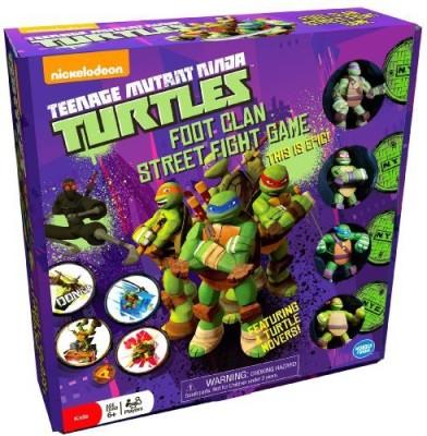 Wonder Forge Teenage Mutant Ninja Turtes Foot Clan Street Fight Board Game