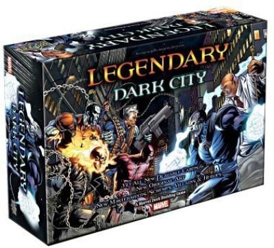 Upper Deck Marvel Legendary Dark City Board Game