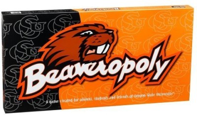 Late for the Sky Oregon State University Beaveropoly Board Game