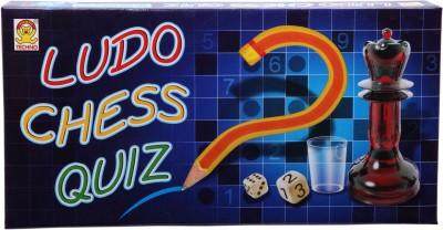 Techno Ludo Chess & Quiz Board Game