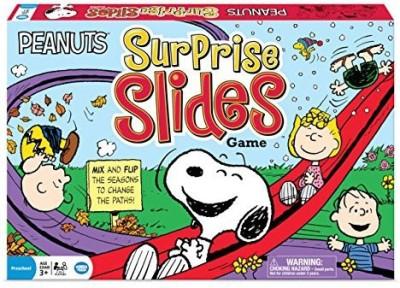 Wonder Forge Peanuts Surprise Slides Board Game