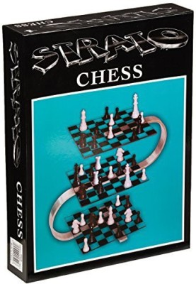 John N. Hansen Strato Chess Board Game