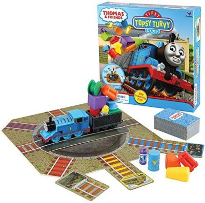Cardinal Industries 1 X Thomas Train And Friends Tipsy Topsy Turvy Silly Board Game