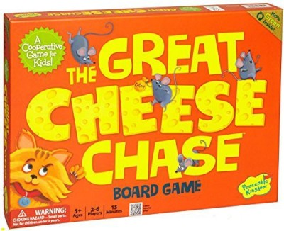 Peaceable Kingdom Press The Great Cheese Chase Award Winning Cooperative Board Game