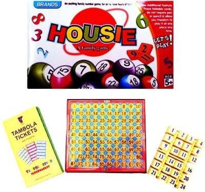 Tambola-Bingo Supermarket Game Set Board Game