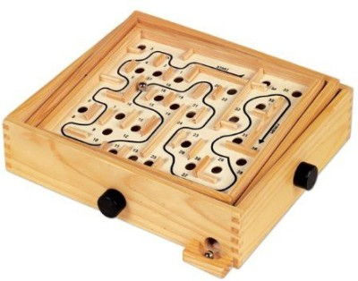 Ryans Room Small Worldwooden Lucky Larinth Board Game