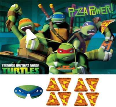 Amscan Teenage Mutant Ninja Turtles Party Feed The Pizza Board Game
